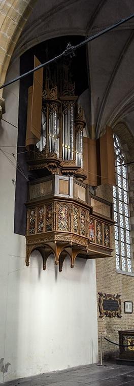 Het Van Covelensorgel in de Grote Kerk van Alkmaar