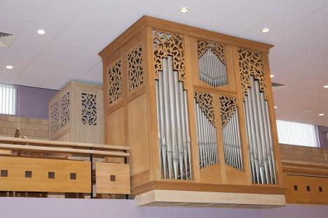 Orgel van de Gereformeerde Gemeente Terneuzen